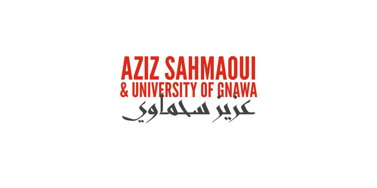 Logo Aziz_Sahmaoui & University of Gnawa