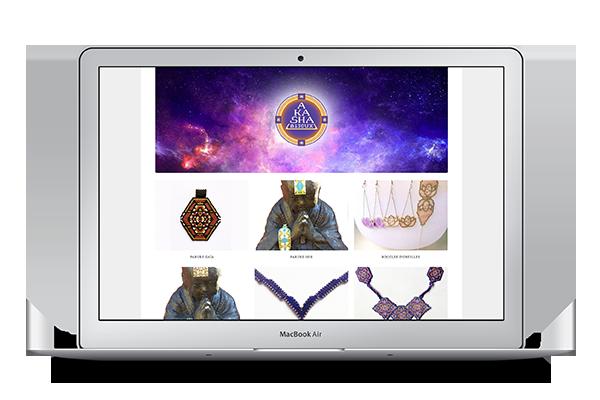 Site internet Akasha Bijoux