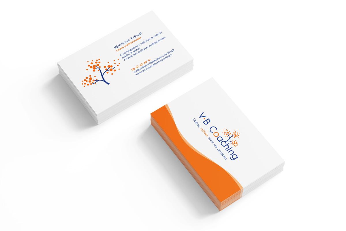 V.B Coaching carte de visite